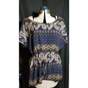 Paisley blouse